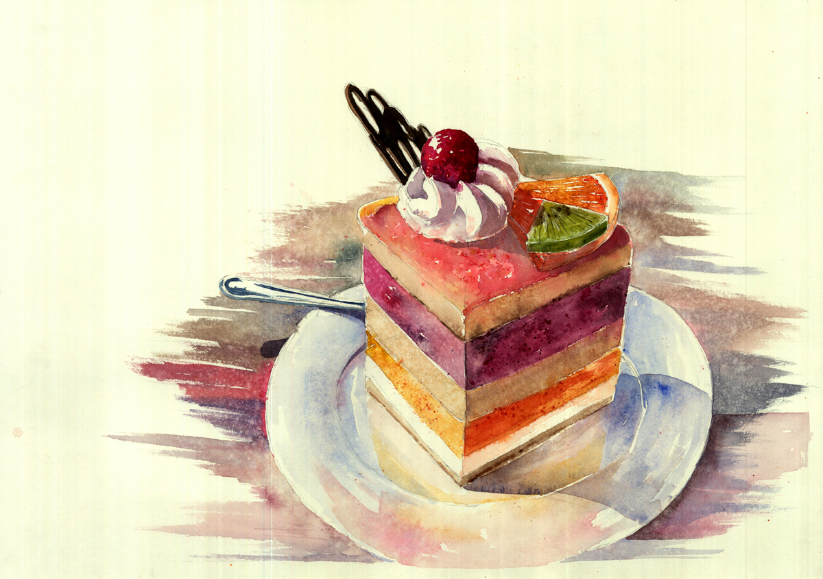 Cake by sari9349