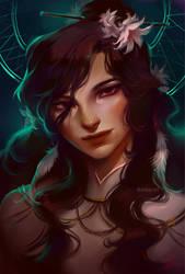 Goddess of Dreams by bluemist72