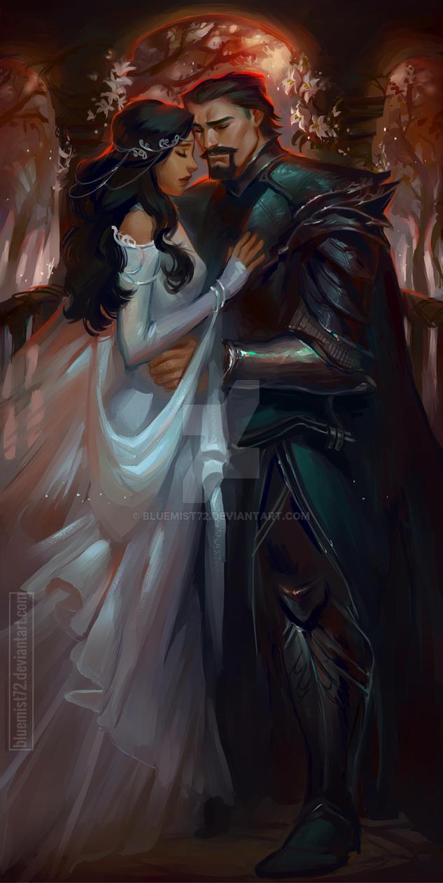 Gabriel - Hades and Persephone AU by bluemist72