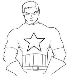 -line- Steve Rogers by razielku