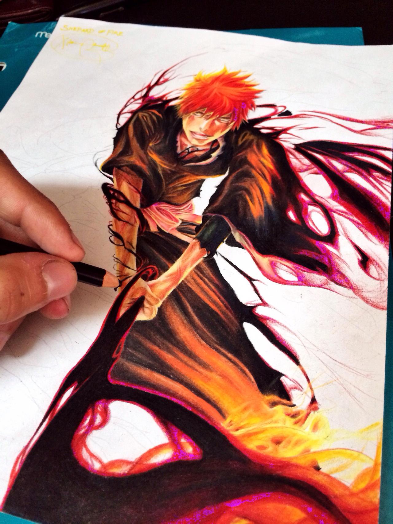 Progressed Ichigo by Maithagor