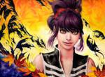 Autumn Burns Black by Maithagor