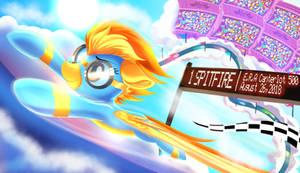 Spitfire Winning the race! by ColorSoundz