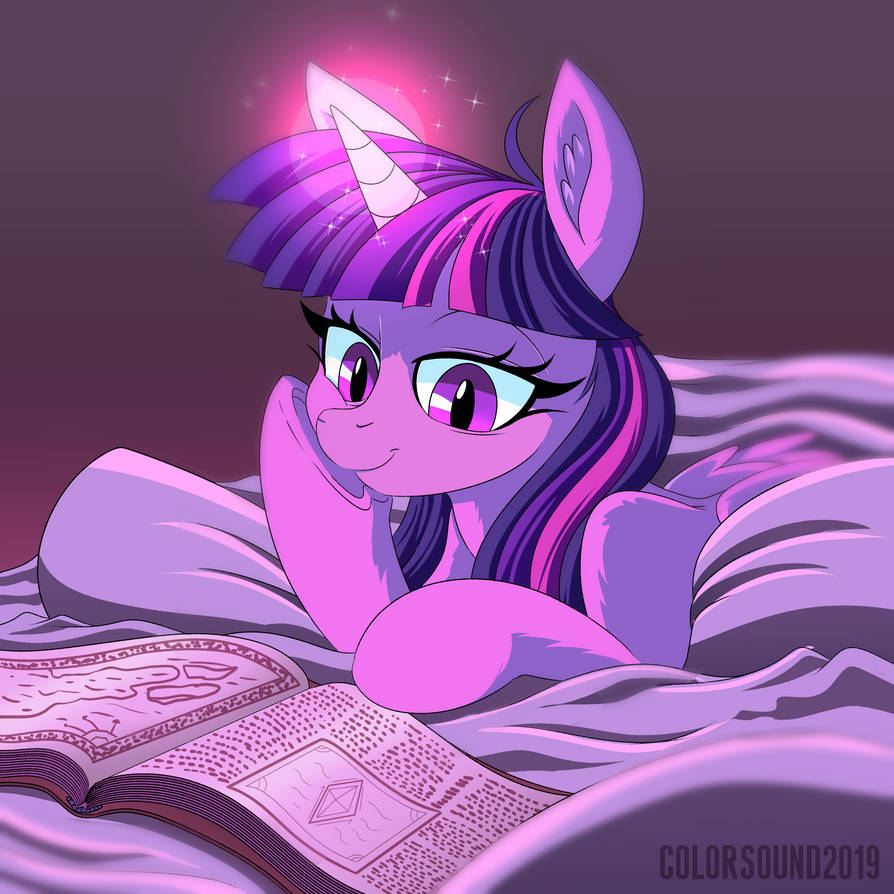 Reading Nights by ColorSoundz