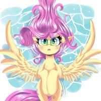 Fluttershy by ColorSoundz