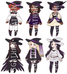 :CLOSED 2/6: Raven Witch Adopt Set 066