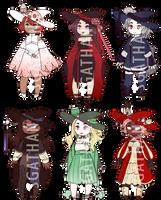 :CLOSED 2/6: Lantern Witch Adopt Set 070 by SgathanAdopts