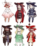 :CLOSED 2/6: Lantern Witch Adopt Set 070