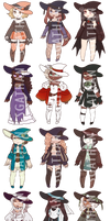 :CLOSED 8/15: The Witchening Adopt Set 071