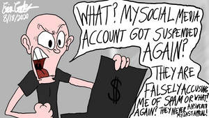 Erica Crooks Comics 2020 - Social Media Struggles