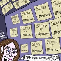 Erica Crooks Comics 2020 - Sleep is Important