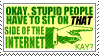 Stupid People and the Internet by Valotoxin
