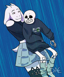 Hugs for the Sad Sack by Miyori999