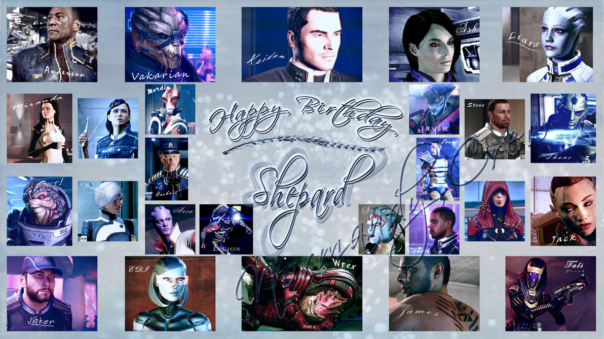 Happy Birthday, Shepard by GSJennsen