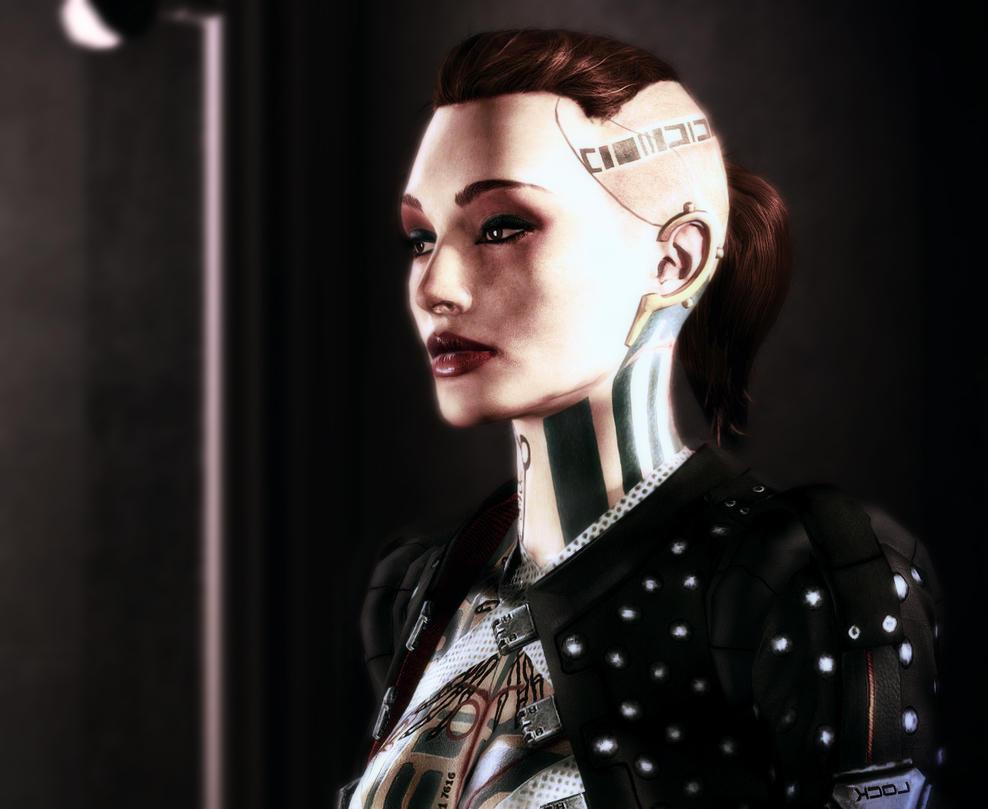 Portrait Series (Mass Effect): Jack by GSJennsen