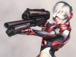 Shotgun by iwaisan