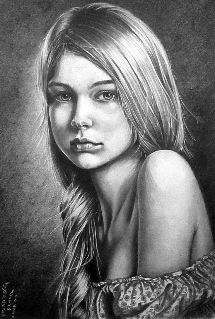 portrait-2 by evlena