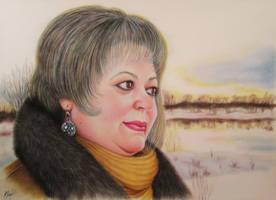 Lady by evlena