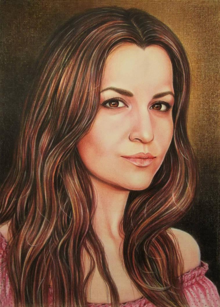 Portrait by evlena