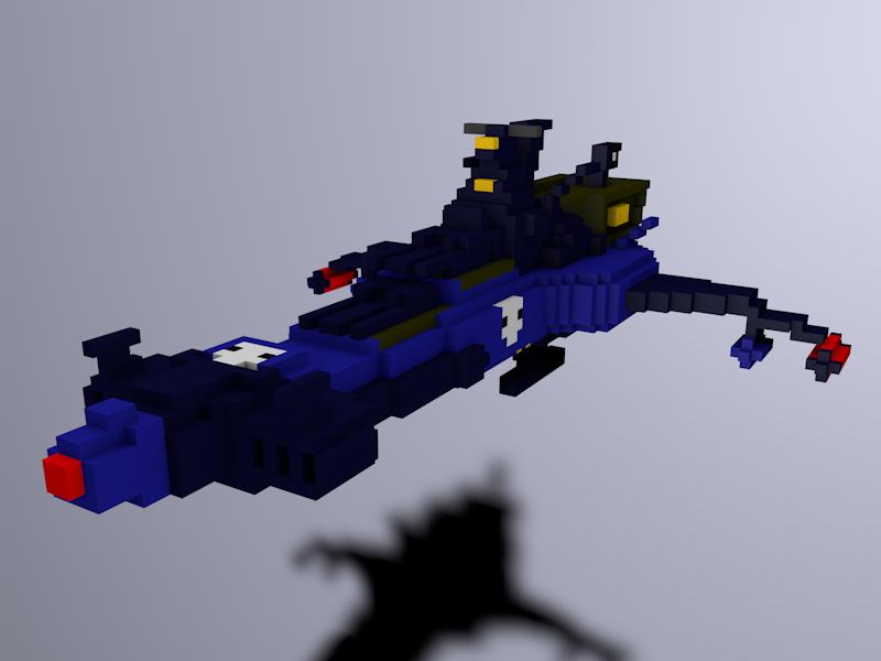 Arcadiablu voxel3 by ilbarbudo