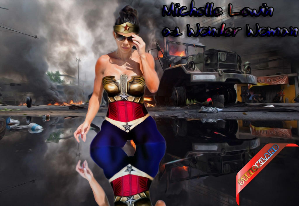 Wonder Woman Michelle Lewin by mrstrickland on DeviantArt