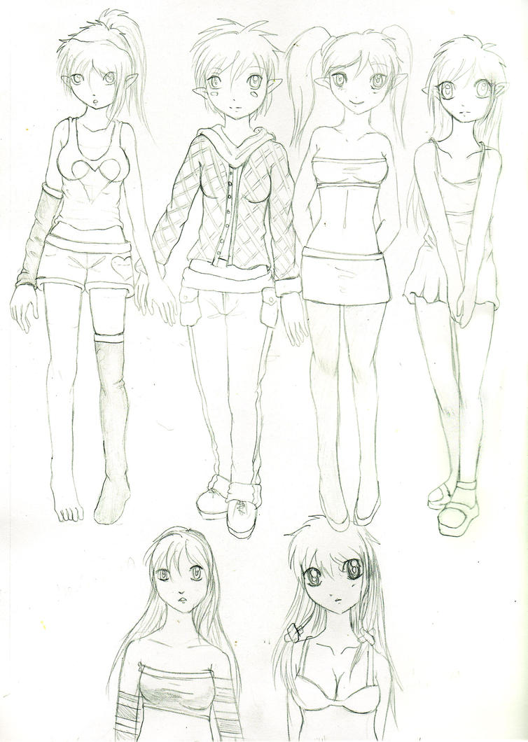 Anime Girl Outfits Drawings Pictures to Pin on Pinterest ...