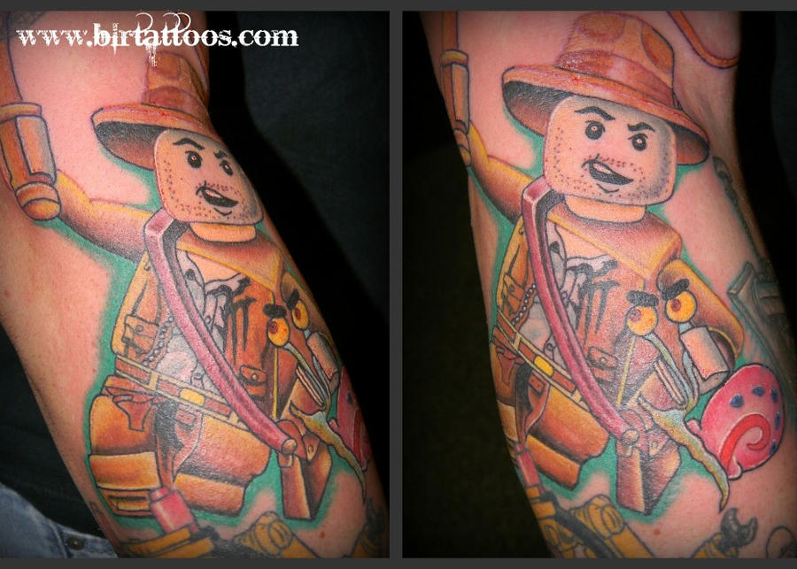 Lego Indiana Jones Tattoo