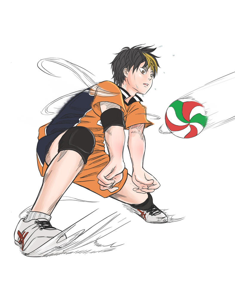 Nishinoya Yuu by bLueLady09