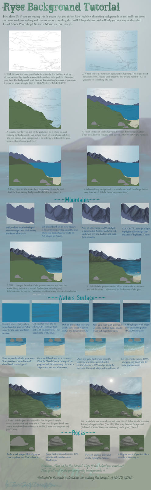 Background Tutorial by Policide