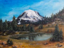 Mt. Rainier by Policide