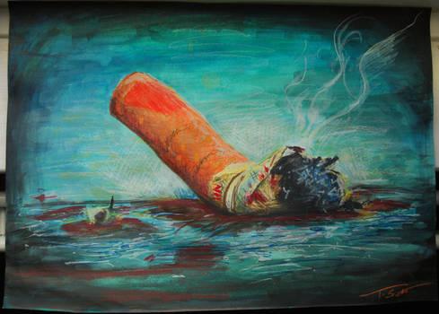 Cigarette..