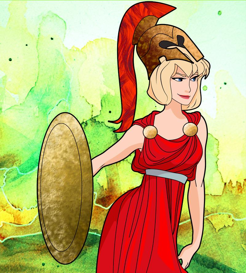 Athena by msdefectivetoaster