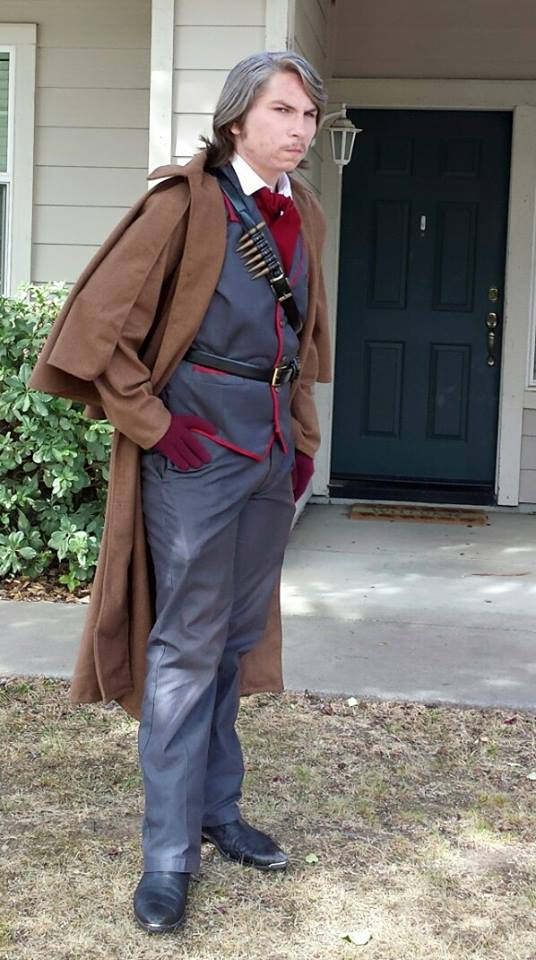 Revolver Ocelot Cosplay By Alistairemerald On Deviantart