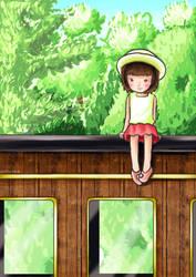 ...Summer Train... by CLassicNightmare