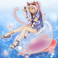 Blooming Bubbles ::Comm:: by CLassicNightmare