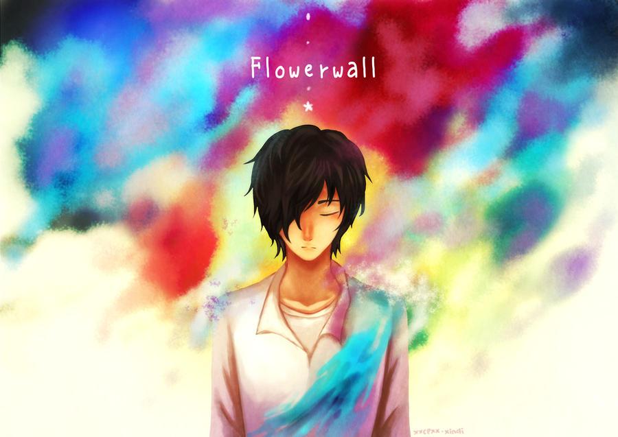 Flowerwall by CLassicNightmare