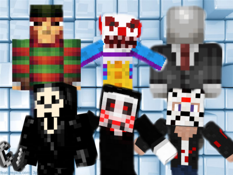 Ultimate Minecraft Horror Character SkinCollection By Gregory On - Horror skins fur minecraft