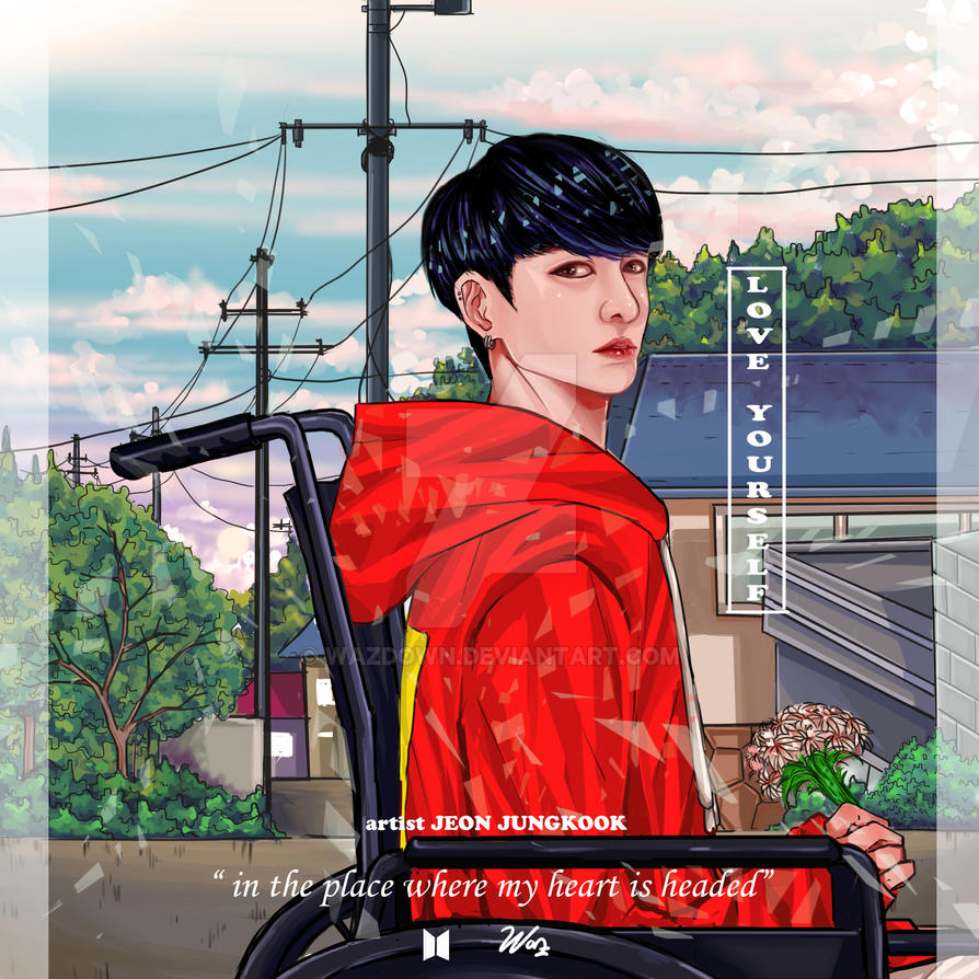 jungkook love yourself by wazdown