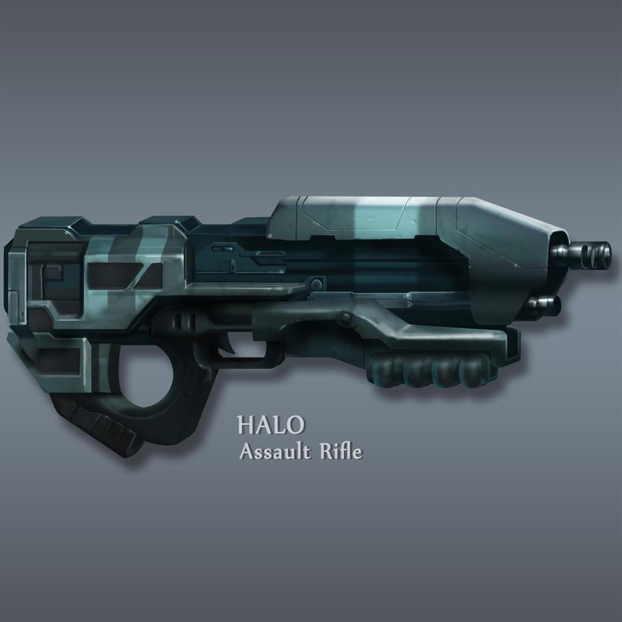 Halo Rifle by Lampblak