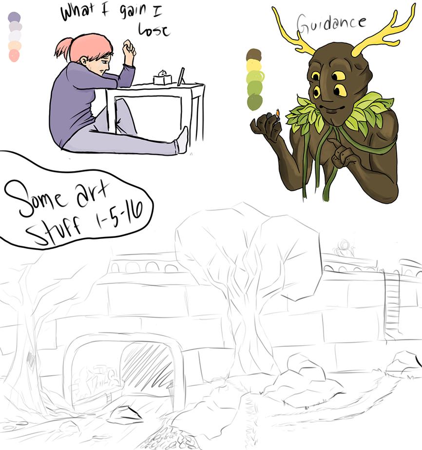 Art Stuff 1-5-17 by SirSlayer62