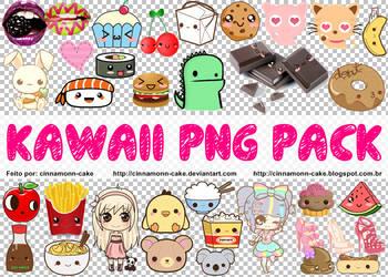 Kawaii Png Pack by cinnamonn-cake