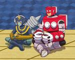 Valentine Art Trade - Friendship Battle!