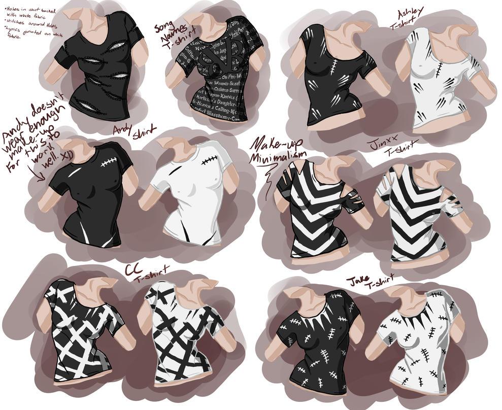 Black Veil Brides T-shirt Concepts by Katara-Alchemist