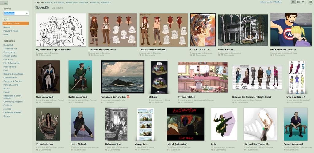 KithandKin search screenshot by Katy-L-Wood