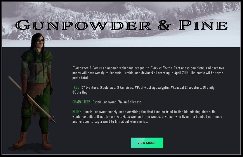 Gunpowder and Pine