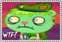 Flippy's wtf face stamp by HTF-ftw