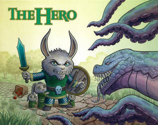 The Hero - Front Cover Illustration