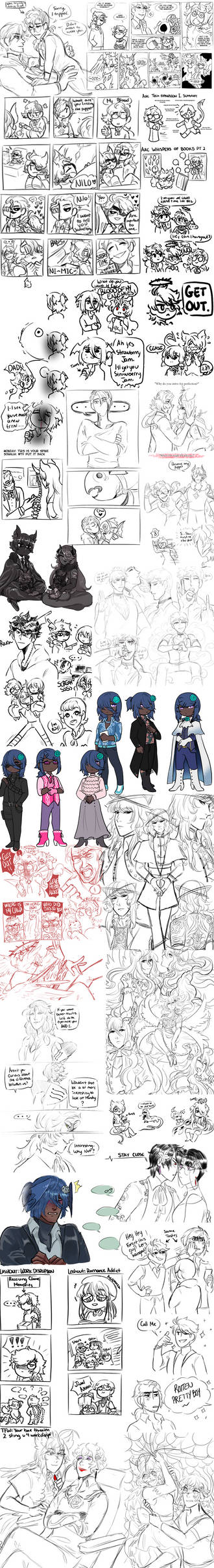 2020 shitpost sketches