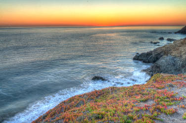 Marin Headlands sunset HDR