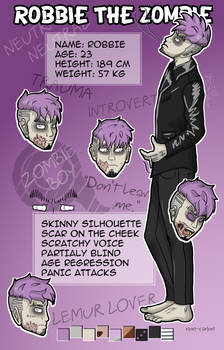 Robbie character sheet